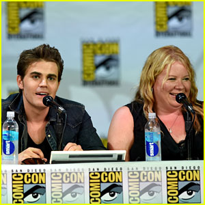 Julie Plec Is Trying to Plan a Reunion with Paul Wesley at Comic Con