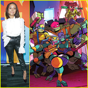 Kat Graham Gives Fans First Look at 'Rise of the Teenage Mutant Ninja Turtles' - Watch Here!