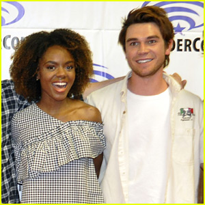 KJ Apa & Ashleigh Murray Perform With Kygo at FVDED In The Park