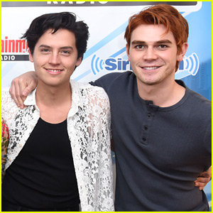 KJ Apa & Cole Sprouse Road Trip Back to Vancouver Together