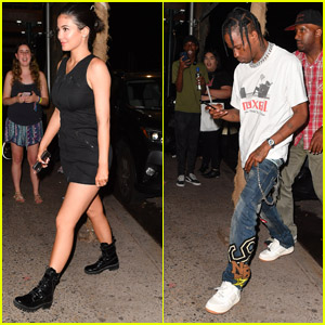 Kylie Jenner & BF Travis Scott Go on a Dinner Date in NYC!
