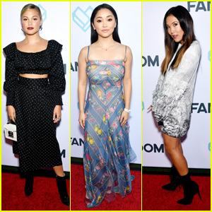 Olivia Holt, Ally Maki & Lana Condor Hit Fandom Party During Comic-Con 2018