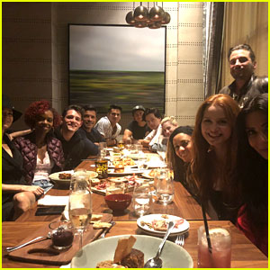 'Riverdale' Cast Grabs Dinner After First Season Three Table Read!