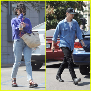 Vanessa Hudgens & BF Austin Butler Go on a Breakfast Date in Burbank!
