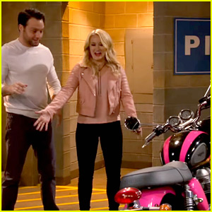 Josh Is Not Happy About Gabi Buying a Motorcycle on 'Young & Hungry'