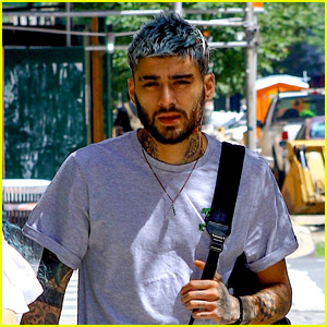 Zayn Malik Sports Blue Hair While Out & About in NYC!