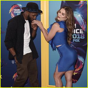 Allison Holker & Stephen 'tWitch' Boss Get Flirty at Teen Choice Awards 2018