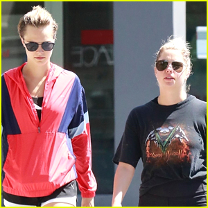 Ashley Benson Hangs Out With Cara Delevingne In Weho Ashley