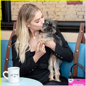 Ashley Benson Gives Cute Kisses To Pup Walter In Adorable New Pics