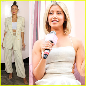 Ashley Tisdale & Shay Mitchell Attend Create & Cultivate Conference