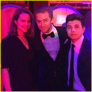 Bridgit Mendler Reunites With Bradley Steven Perry & Jason Dolley at Friend's Wedding