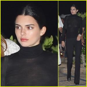 Kendall Jenner Enjoys a Sushi Dinner With Caitlyn Jenner!