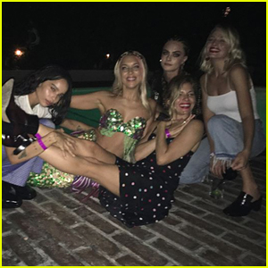 Cara Delevingne Celebrates Her Birthday with Tons of Famous Friends!