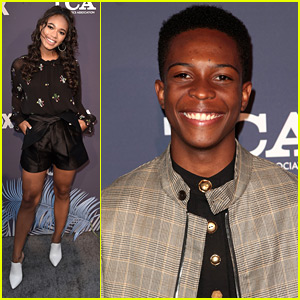 Lethal Weapon's Chandler Kinney & Dante Brown Hit Up Fox's All-Star TCA Party
