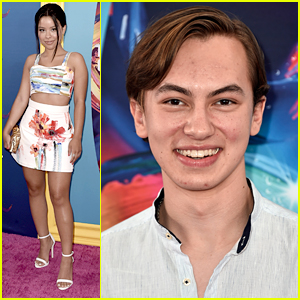 Cierra Ramirez & Hayden Byerly Stir Up 'Good Trouble' at Teen Choice Awards 2018