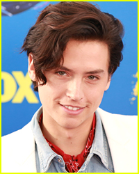 Here's What Cole Sprouse Thought About Winning Choice Male Hottie at Teen Choice