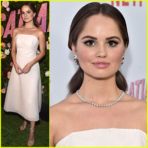Debby Ryan Keeps It Classic at 'Insatiable' Season One Premiere