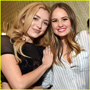 peyton list debby ryan write each other messages of support for