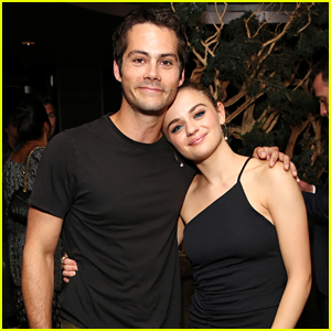 Dylan O'Brien Supports Joey King at 'Slender Man' Screening
