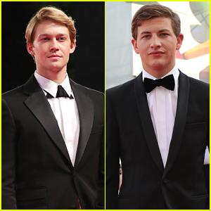 Joe Alwyn & Tye Sheridan Suit Up Sharp For Film Premieres in Venice