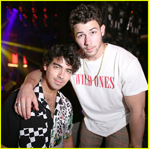 Nick Jonas Helps Kick Off Joe's Birthday Celebrations!