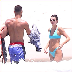 Kendall Jenner Soaks Up the Sun with Ben Simmons in Mexico!