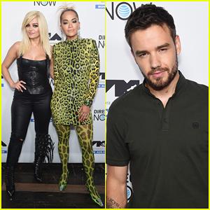 Liam Payne Joins Bebe Rexha & Rita Ora at MTV VMA's Kickoff Concert!