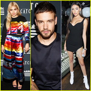 Liam Payne, Hayley Kiyoko & Madison Beer Live It Up at Republic Records VMA's After-Party!