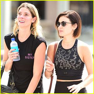 Lucy Hale & Ashley Greene Have a Tea Date