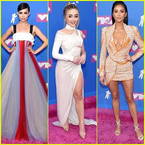 Sofia Carson, Sabrina Carpenter & Shay Mitchell Slay The MTV VMAs 2018