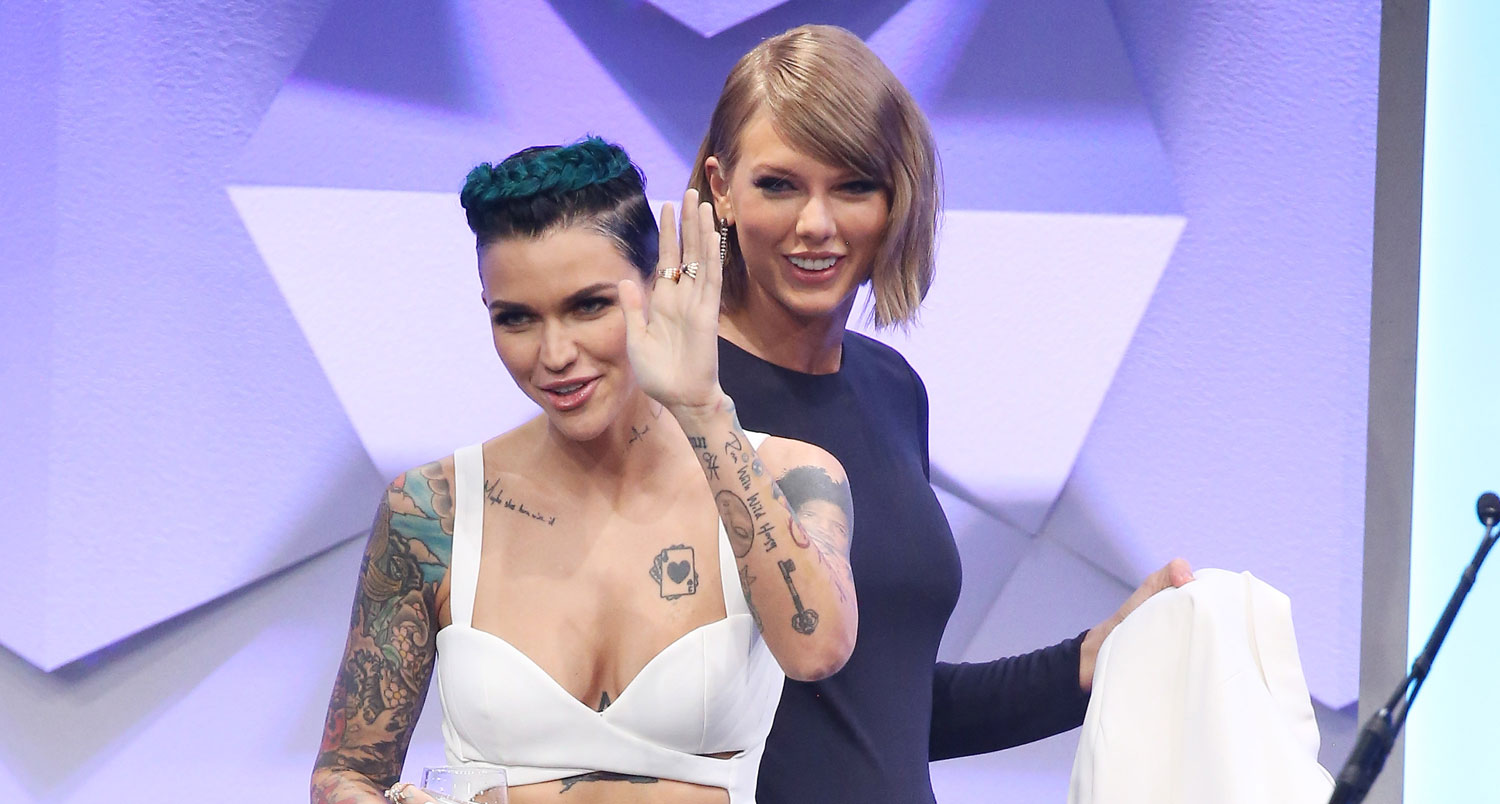 Taylor Swift is 'So Excited' to See Ruby Rose Play 'Batwoman'