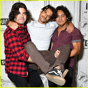 Tyler Posey & PVMNTS Promote Upcoming EP in New York City