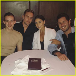 Adam Rippon & Jenna Johnson Double Date with Their Men!