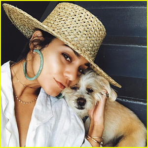 Vanessa Hudgens Reveals Touching Story Of How She Got Puppy Darla