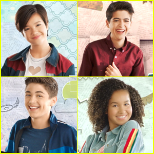 Peyton Elizabeth Lee, Asher Angel & More Grow Up in 'Andi Mack' Season 3 Opening Titles - Watch Now!