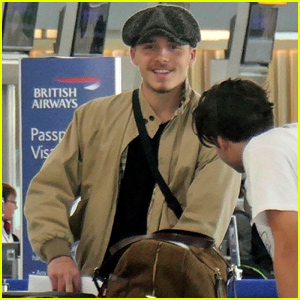 Brooklyn Beckham Jets Out of London!