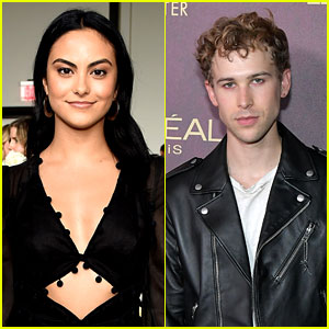 Camila Mendes & Tommy Dorfman Cuddle Up in Cute New Pic