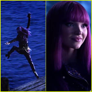 Mal Goes Underwater In Search For Uma in 'Descendants Under The Sea' Teaser - Watch!