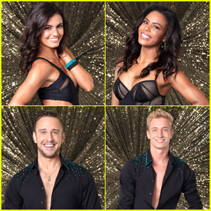 Hayley Erbert & Britt Stewart Welcome a New Face to the DWTS Troupe!