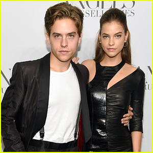 Dylan Sprouse & Barbara Palvin Couple Up For Russell James' Book Launch During NYFW