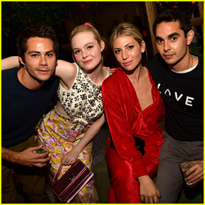 Dylan O'Brien Meets Up with Elle Fanning in Toronto!