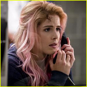 Felicity Sports Pink Hair In First 'Arrow' Season 7 Photos