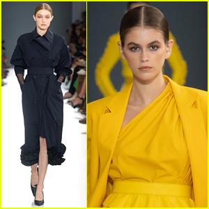 Gigi Hadid Closes the Max Mara Show during Milan Fashion Week!