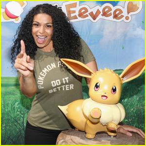 Jordin Sparks Shares Her Love For Pokémon in Santa Monica!