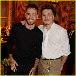Brooklyn Beckham Celebrates His Mom's Fashion Line with Liam Payne!