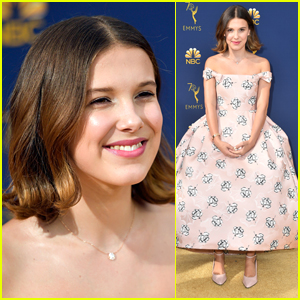 Millie Bobby Brown Glams Up In Gorgeous Gown For Emmy Awards 2018
