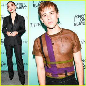 Rowan Blanchard & Tommy Dorfman Support a Good Cause at NYFW