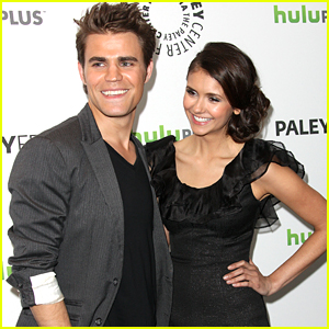 Nina Dobrev Gets Surprised By Paul Wesley at 'Fam' Taping