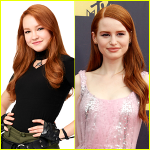 Madelaine Petsch Sends Cute Support Message to Sadie Stanley For 'Kim Possible'