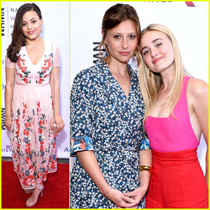 Sarah Jeffery Joins Aly & AJ at Women Making History Awards 2018
